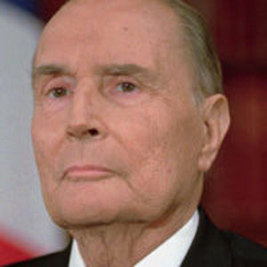 Francois Mitterrand Obituary Photo