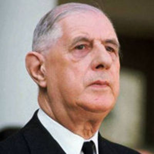 Charles de Gaulle Obituary Photo