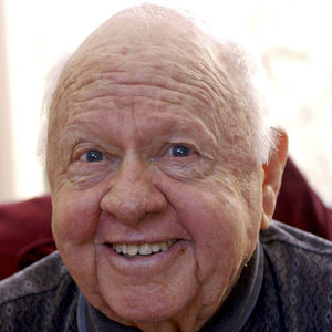 Actor Mickey Rooney poses for a portrait Dec. 23, 2001, at his home in Westlake Village, Calif. At age 81, Rooney continues doing what he has done for most of his life: entertaining others.