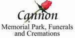 Cannon Memorial Park, Funerals and Cremations