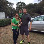 Ashley and Joe with nephew Peyton