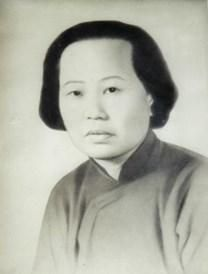 Kon Tai Wong Lin obituary photo