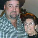 Grandma & Mike Christmas 2008