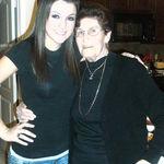 Grandma & Candace Christmas 2008