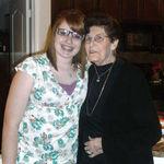 Grandma & Sonia Christmas 2008