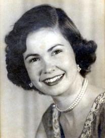 Gloria Thomas McWilliams obituary photo