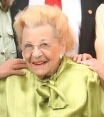 Pauline Marie Cedar obituary photo
