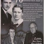70th Wedding Anniversary Annoucement