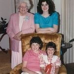 Nana and cousins, Shelly and Cindy