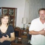 Mary and Franz at Mark Manzo's house
