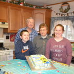 Celebrating the grandkids December birthday's.