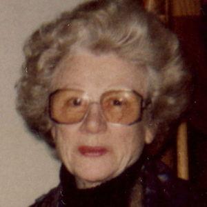 Mrs. Marjorie D Gushard