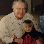 Bill and his great-granddaughter Morgan