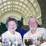 May, 1990 - Enjoying lunch at Union Station in Washington, DC waiting for Taylor to be born!