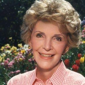 Nancy  Reagan Obituary Photo
