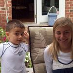 Erin K. Ehrbar and her cousin Jack.