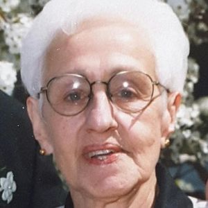 FRANCES M ANTHONY Obituary Photo