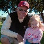 Grandpa with Ella 2003