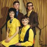 Karen with her siblings, Roy, Eugene and Francine