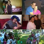 Mamá con parte de nietos y bisnietos