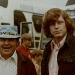 George with his step-dad, Jim