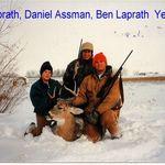 Ben and Sam Laprath, with Dan Assman