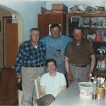 Father Hans, Hans NJ, Bill, and Mother Frieda Laprath