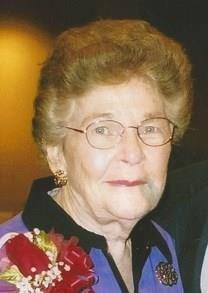 Doris Moss obituary photo