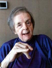 Martha Louise DeJong obituary photo