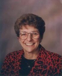 Frances Smith obituary photo