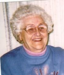 Irene Uvon Caswell obituary photo