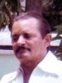 Manuel Diaz obituary photo