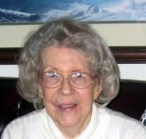 Myrtle Nadine BURKE obituary photo
