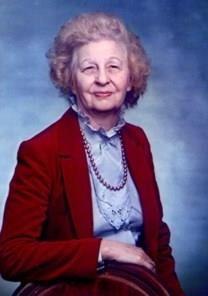 Geraldine Moffett obituary photo