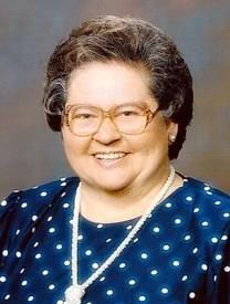 Ethylen Patricia Bennett obituary photo