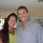 Frank & Julianna at my husband Bob Shultz's 50th birthday celebration...a beautiful couple!