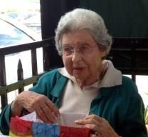 Gladys Huffman Roy obituary photo