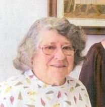 Mary J. Raup obituary photo