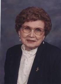 Elizabeth Ida Stout obituary photo