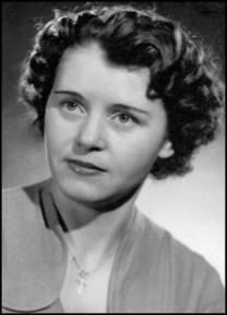 Maria Veszelovszky obituary photo
