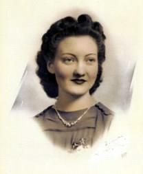 Dora Louise Hurley obituary photo
