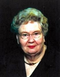 Betty Crump obituary photo