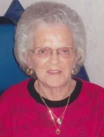 Flora Jean Kubasik obituary photo