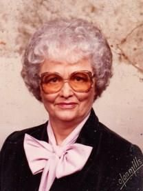 Agnes Crowder Bush obituary photo