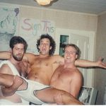 Toga party in the 80's