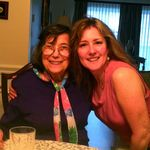Aunt Tina with Margaret (Sassy) Cincotta  Orlando