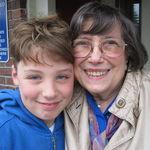 Aunt Tina with Dante Orlando