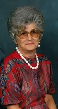 Letha May Huffman obituary photo