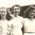 """This is my favorite picture of the """"Kelley girls""""- my mom (Mary Jane Taylor), Grandma (Lilah Kelley), and Aunt Bonnie."""