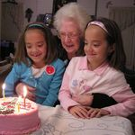 Nanas Betty Cake and the twins